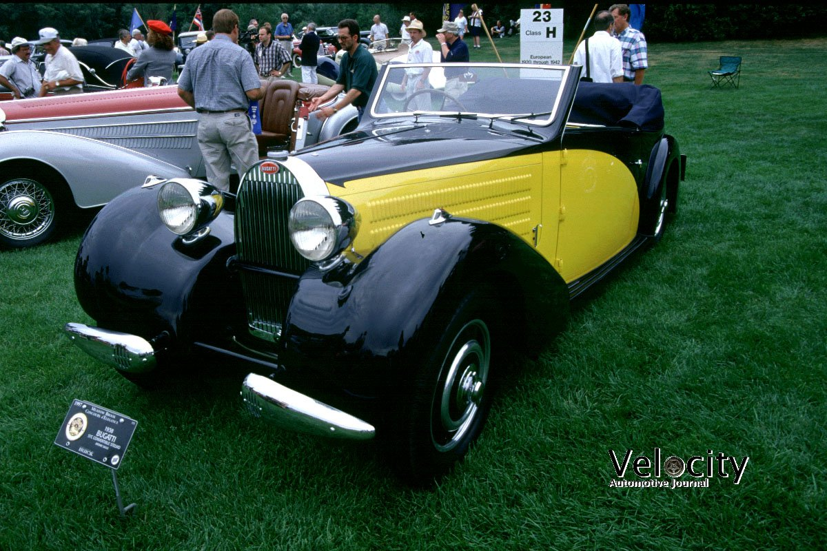 1938 Bugatti Type 57C Convertible Stelvio