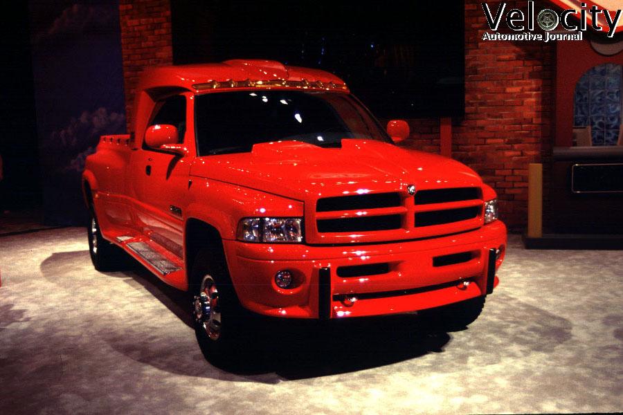 1998 Dodge Big Red Truck Concept