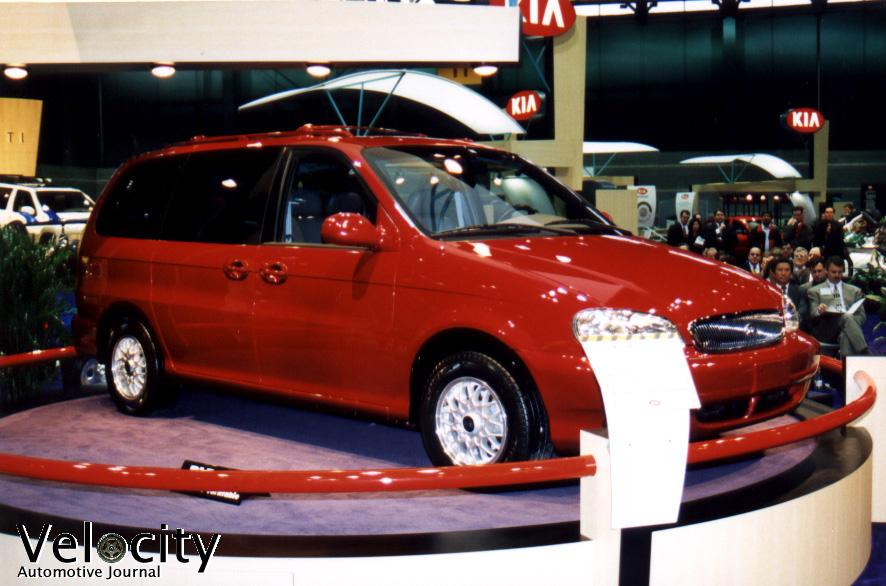1999 Kia Minivan