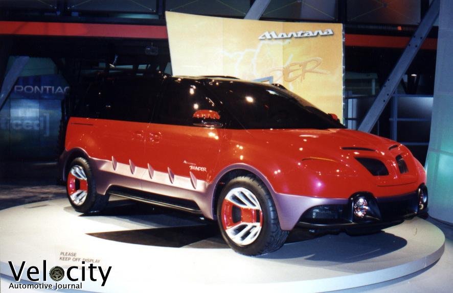 1998 Pontiac Montana Thunder concept