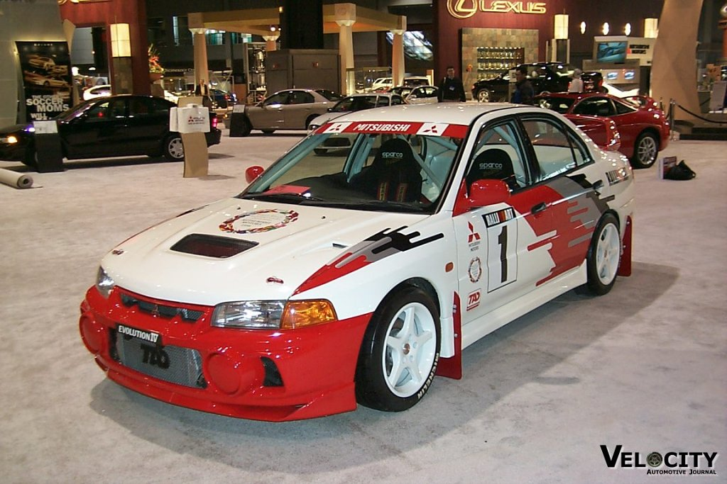 1999 Mitsubish Mirage Evolution IV Rally Champion