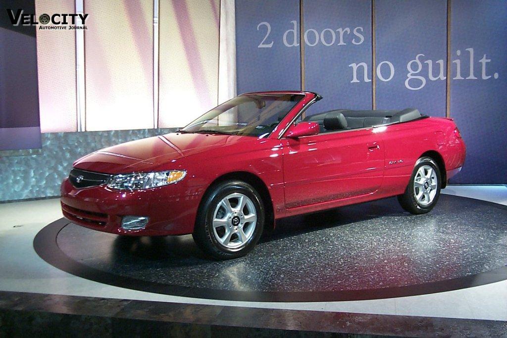 2000 Toyota Solara Convertible