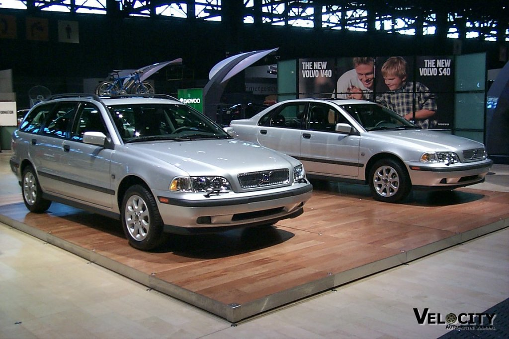 2000 Volvo S40 and V40