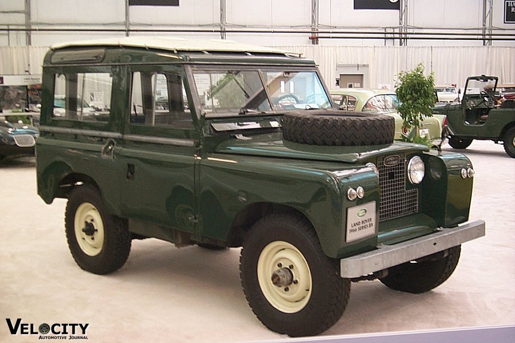 1966 Land Rover Series IIAA Information