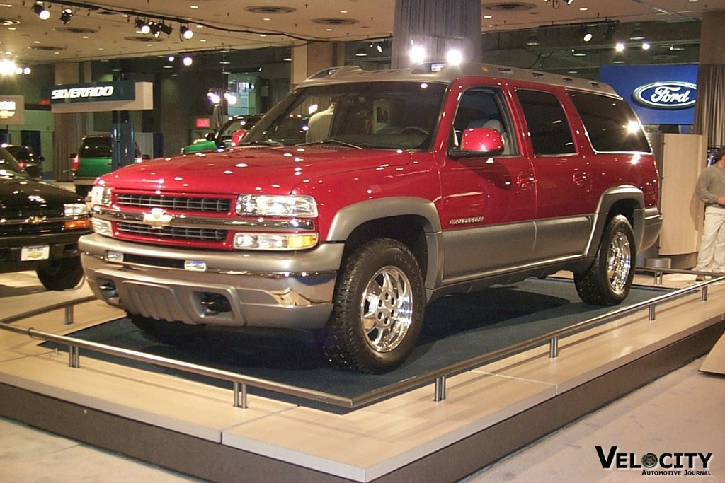 2000 Chevrolet Suburban Show Truck