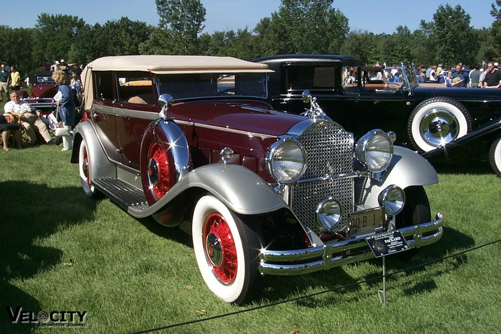 1931 Packard Dietrich Convertible Sedan
