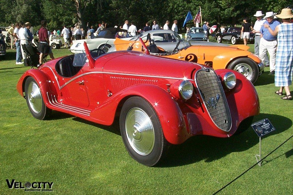 1938 Alfa Romeo 6C2300 Touring Spyder MM