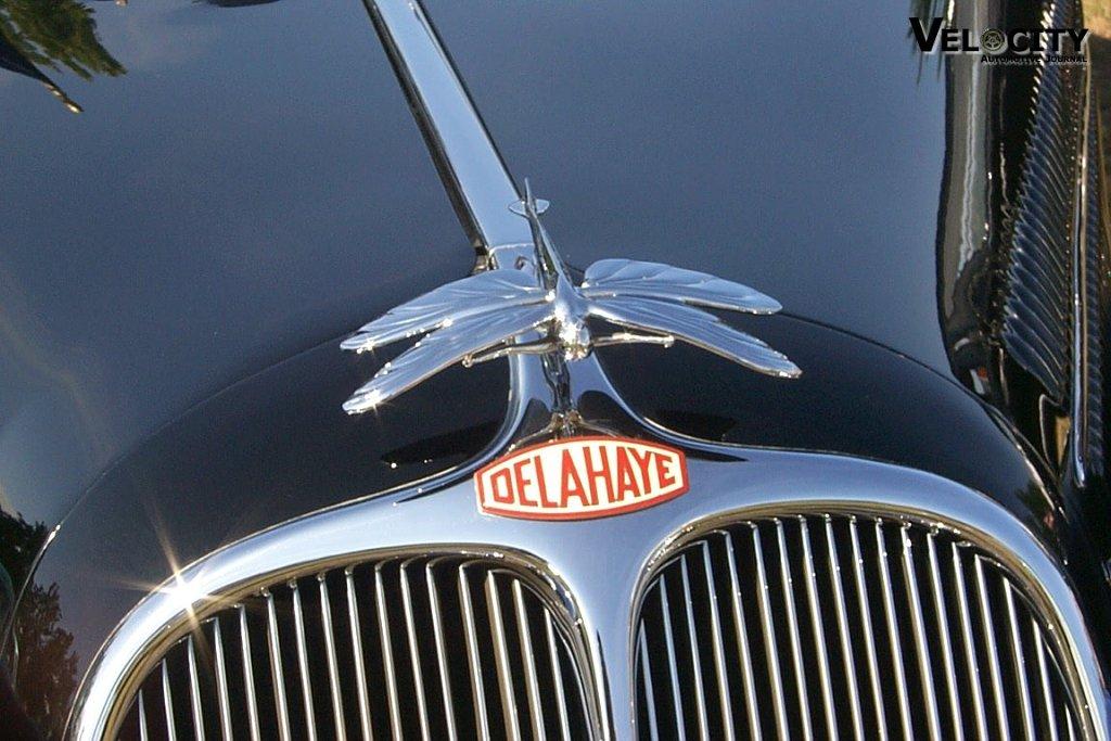 1938 Delahaye Hood Ornament