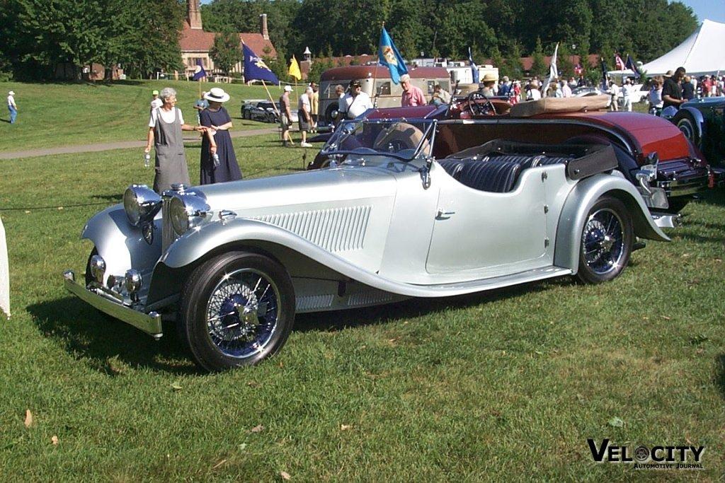 1936 Jaguar SS Tourer