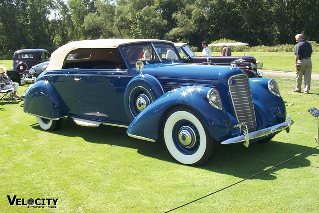 1938 Lincoln V-12 Brunn Convertible