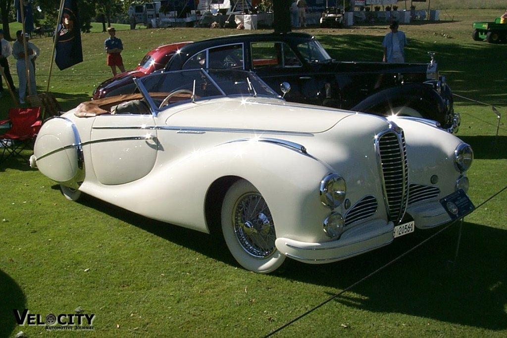 1949 Delahaye Saoutchik Roadster