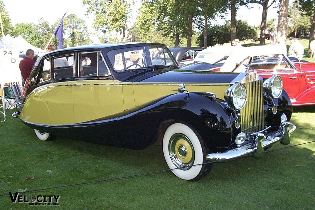 1956 Rolls Royce Hooper Empress Limousine