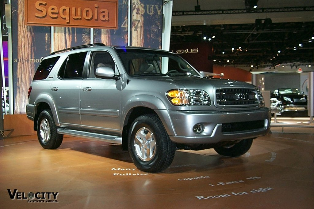 Picture Of 2001 Toyota Sequoia