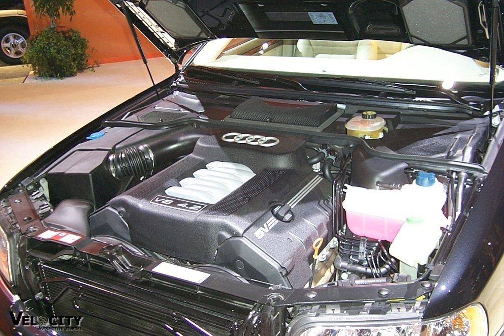 2000 Audi A8 engine