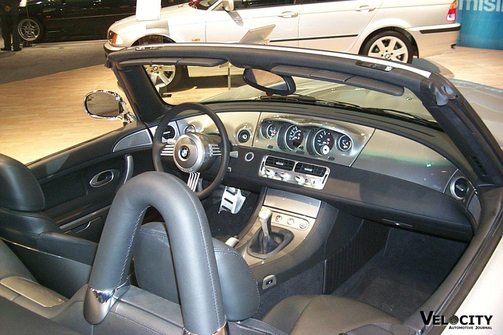 2001 BMW Z8 interior