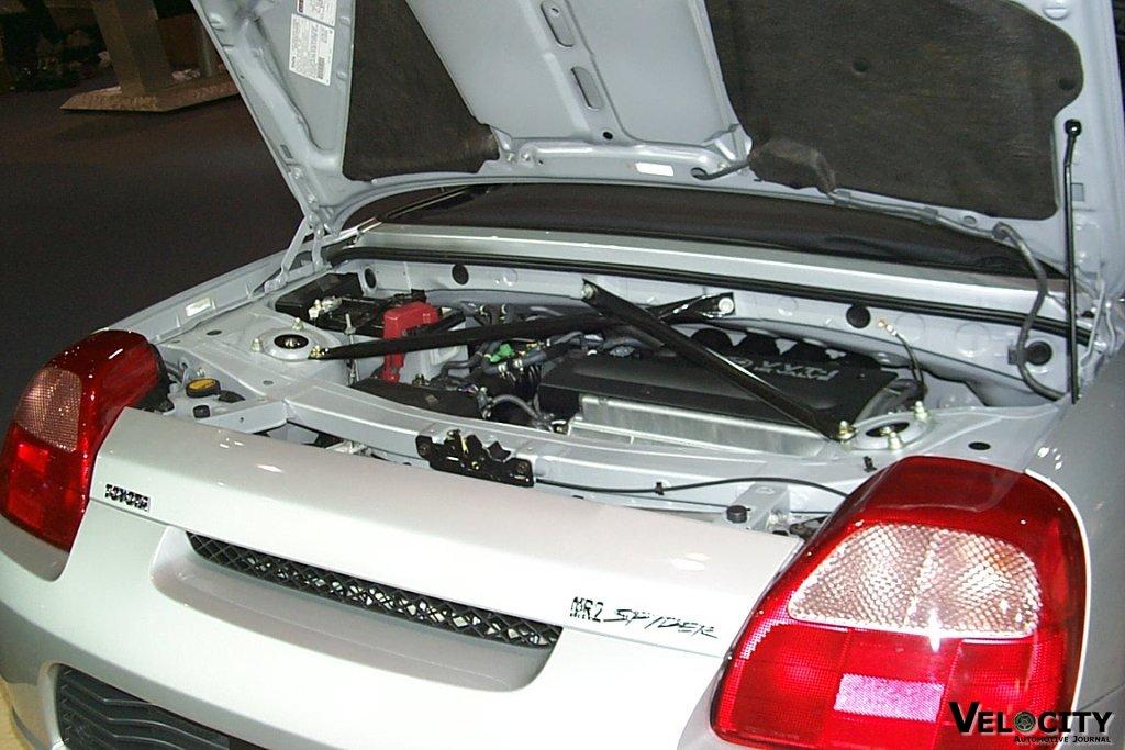 2001 Toyota MR2 Spyder engine