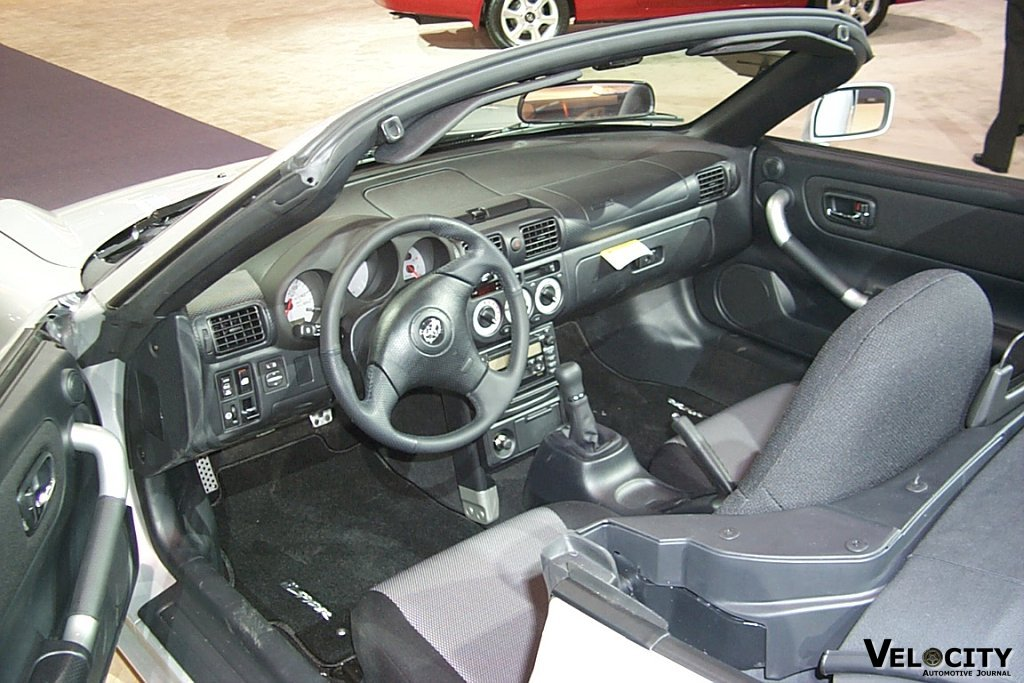 2001 Toyota MR2 Spyder interior