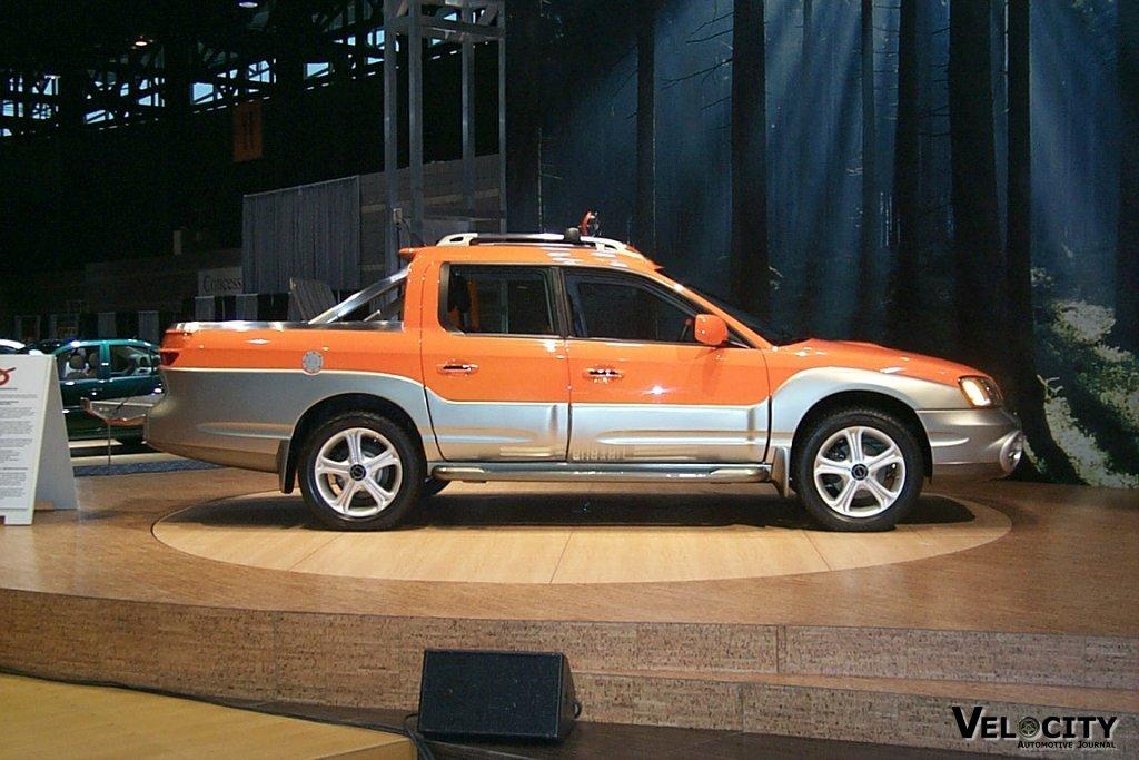 2000 Subaru ST/X Concept