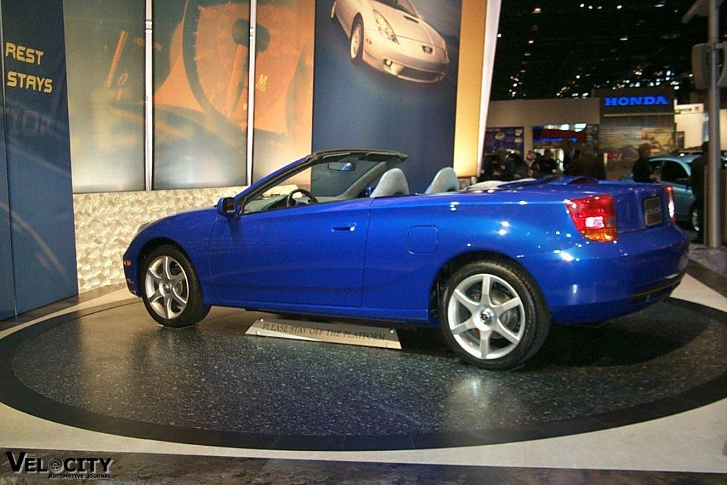 2000 Toyota Celica Convertible Concept