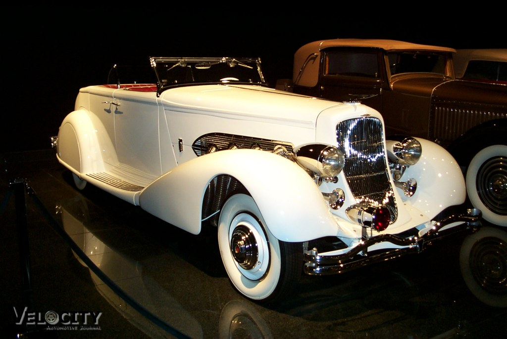 1936 Duesenberg Model SJ Convertible Sedan