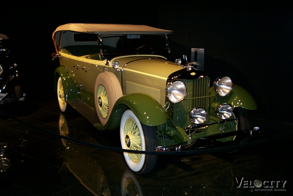 1930 Lincoln Model L Seven Passenger Sport Touring