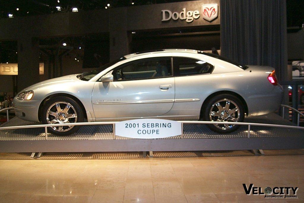 2001 Chrysler Sebring coupe