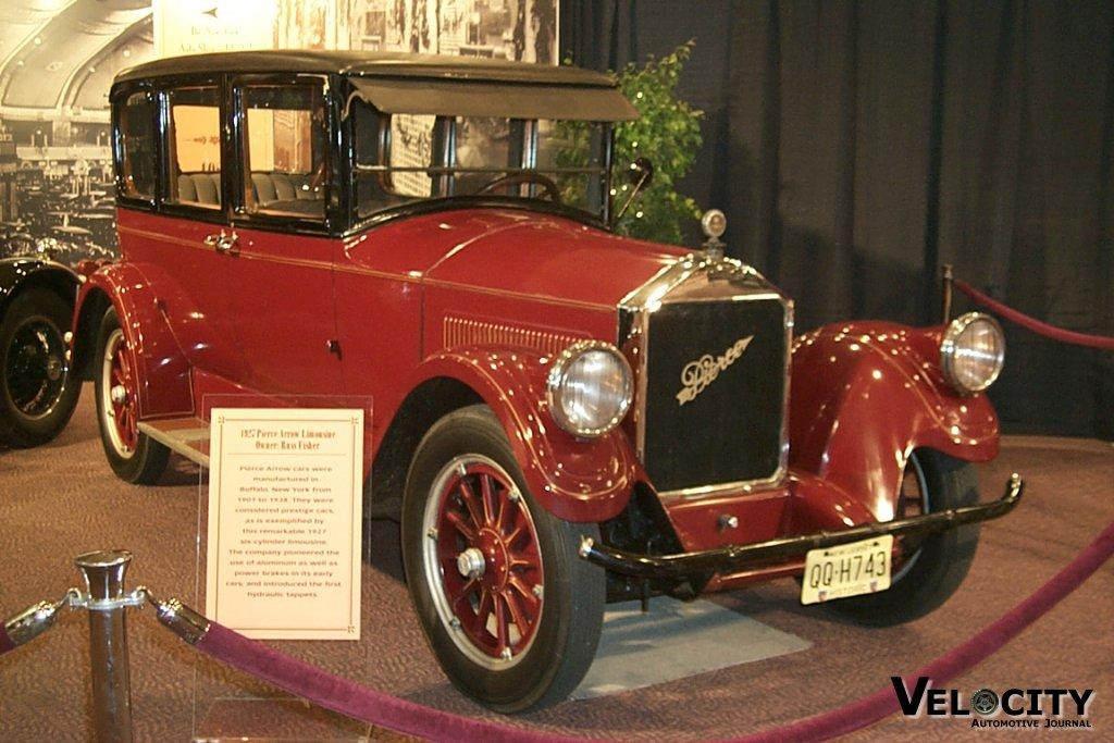 1927 Pierce Arrow Limousine