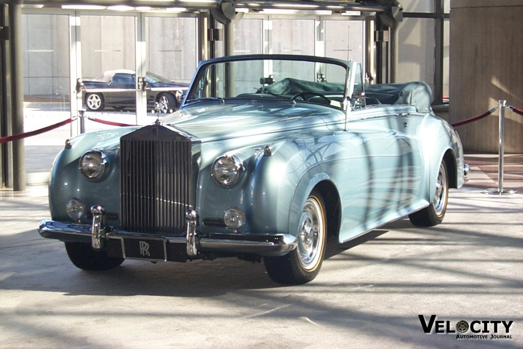 1961 RR Silver Cloud II Drophead Coupe