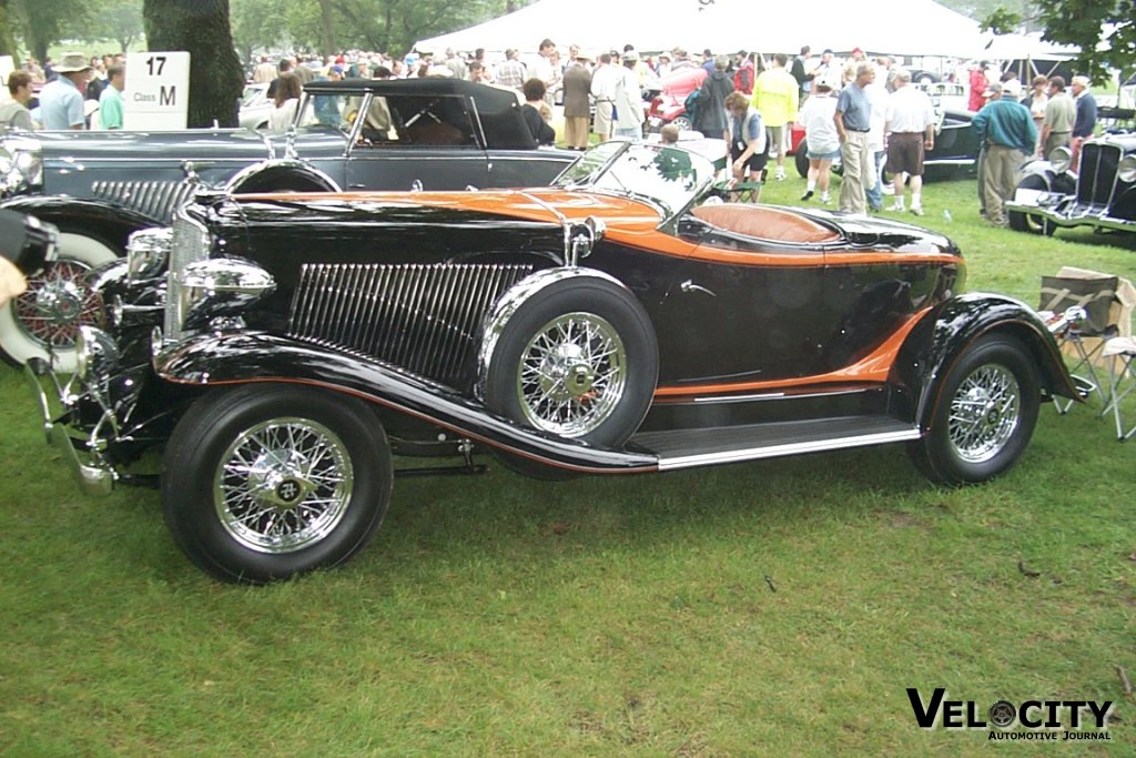 1932 Auburn Boattail Speedster