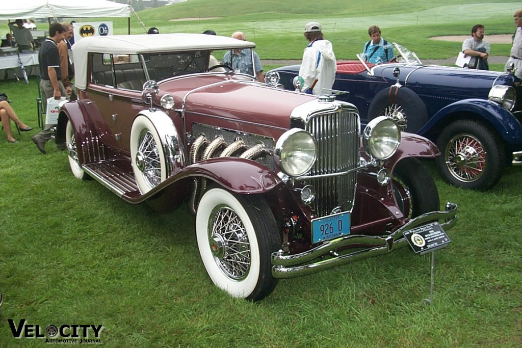 1931 Duesenberg Murphy Convertible Sedan
