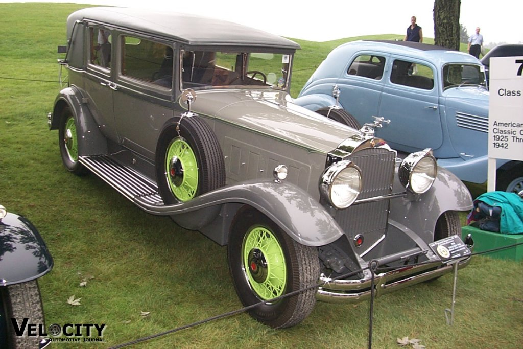 1931 Packard 840 Cabriolet Sedan Limousine