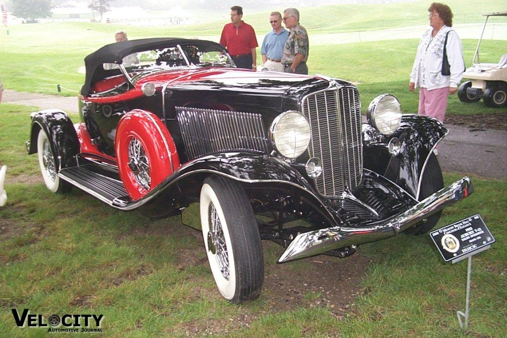 1933 Auburn V12 Salon Speedster