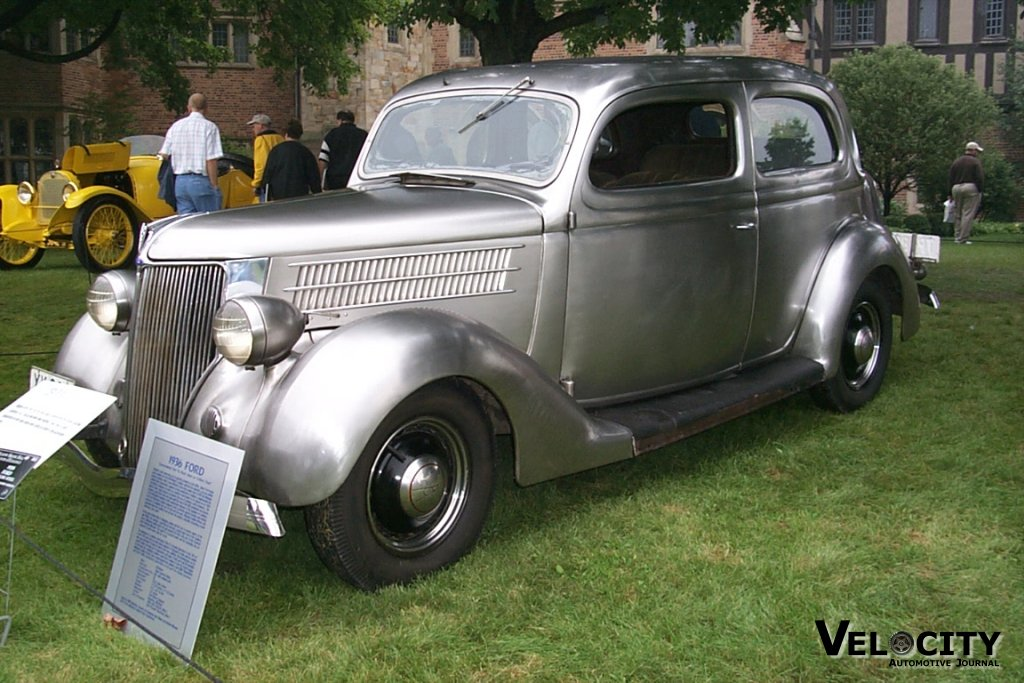 1936 Ford Stainless Steel Show Car