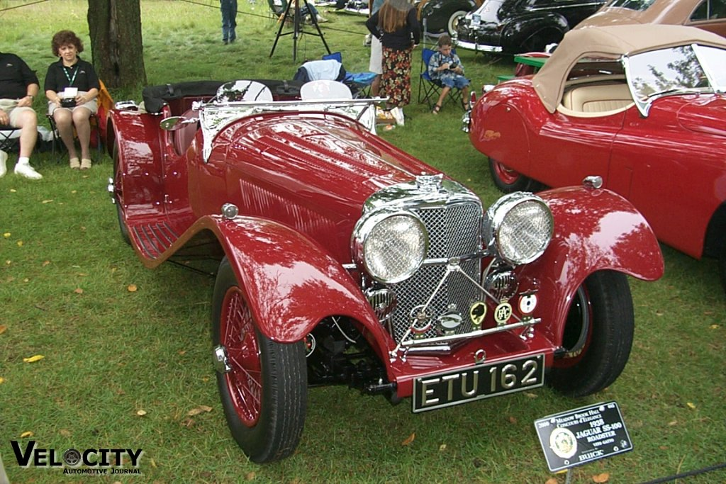 1938 Jaguar SS-100 Roadster