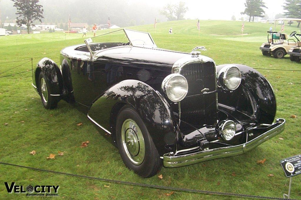 1932 Lincoln KB Boattail Speedster