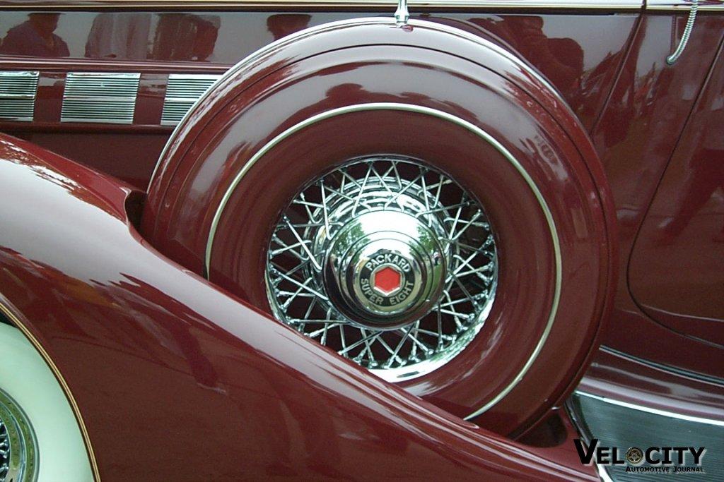 1936 Packard S8 Dual Cowl Sport Phaeton