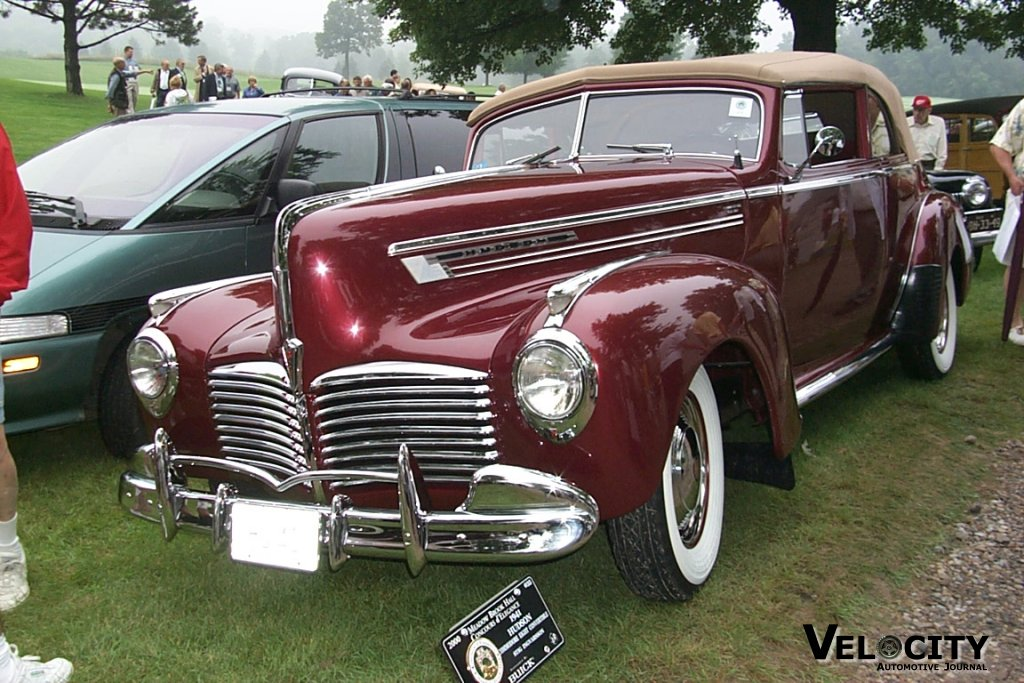 1941 Hudson Commodore 8 Convertible