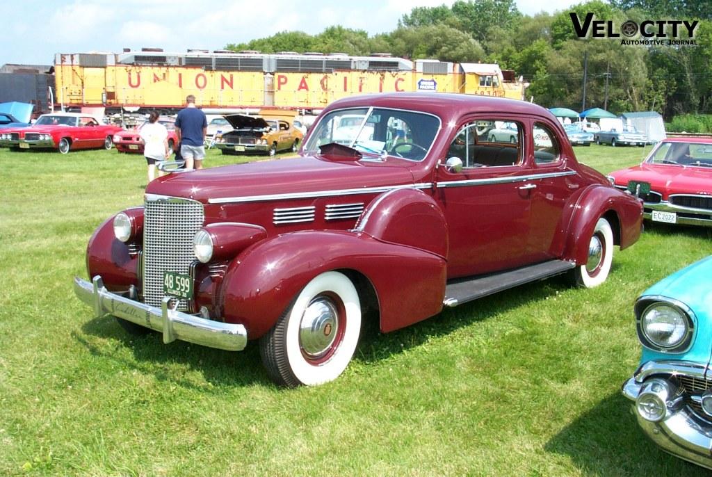 1938 Cadillac 2-door