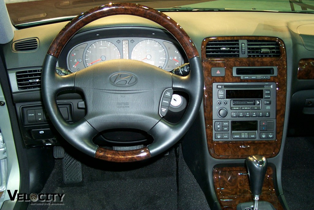 2002 hyundai xg350 pictures velocity automotive journal