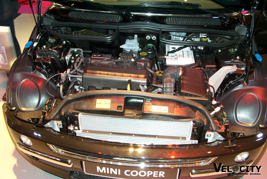 2002 Mini Cooper engine
