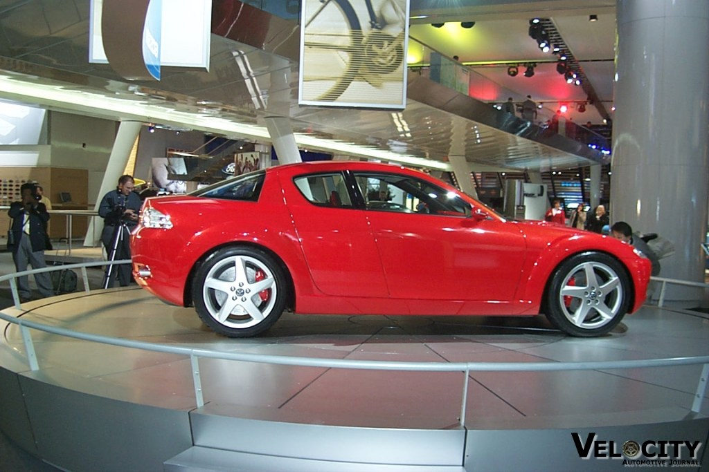 Marvelous 2001 Mazda RX-8 Concept Images - Best Image Cars - desej.us