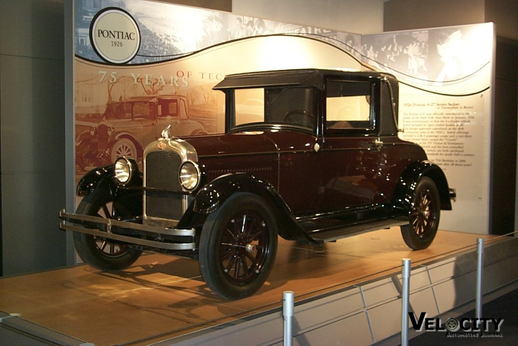 1926 Pontiac 6-27 Series Sedan