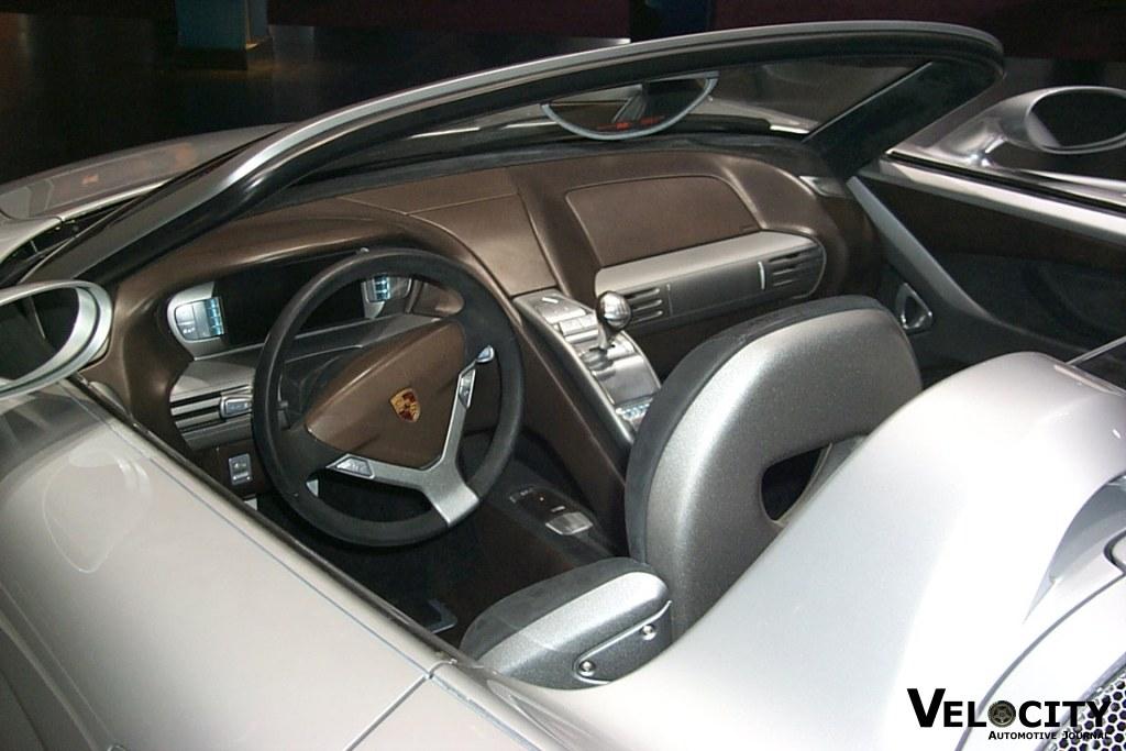 2000 Porsche Carrera GT Concept interior
