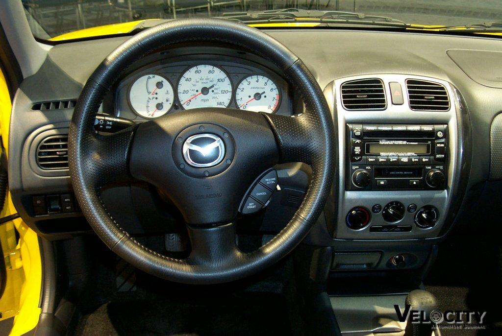 2002 Mazda Sport Wagon interior
