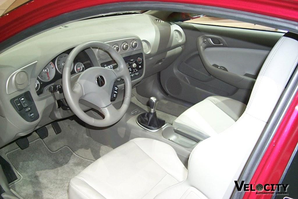 2002 Acura RS-X interior