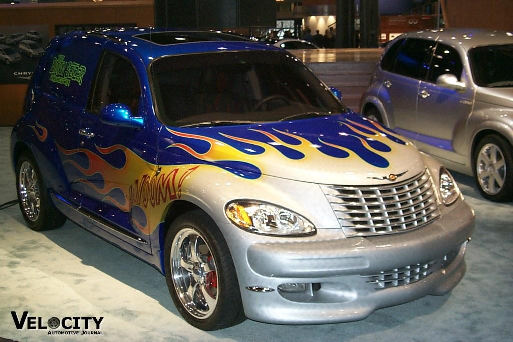 2001 Chrysler PT Cruiser designer concept