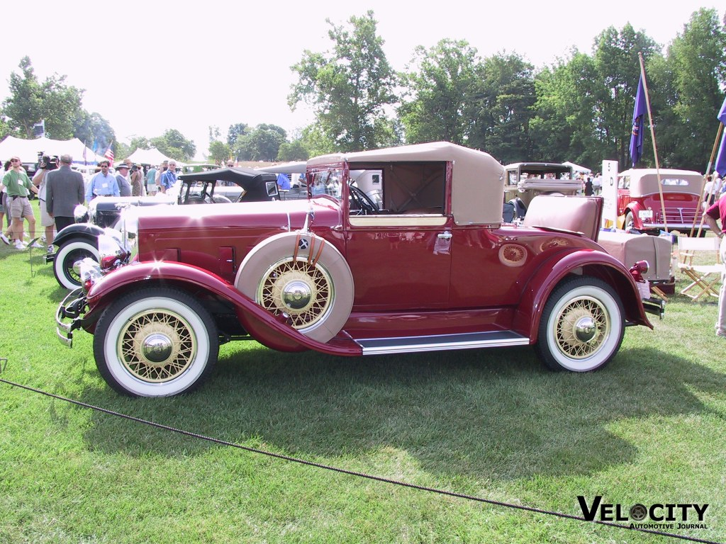1931 Franklin 6 - 151 Convertible Coupe