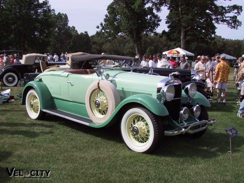 1930 Lincoln Sport Roadster Type 191 (body by Locke)