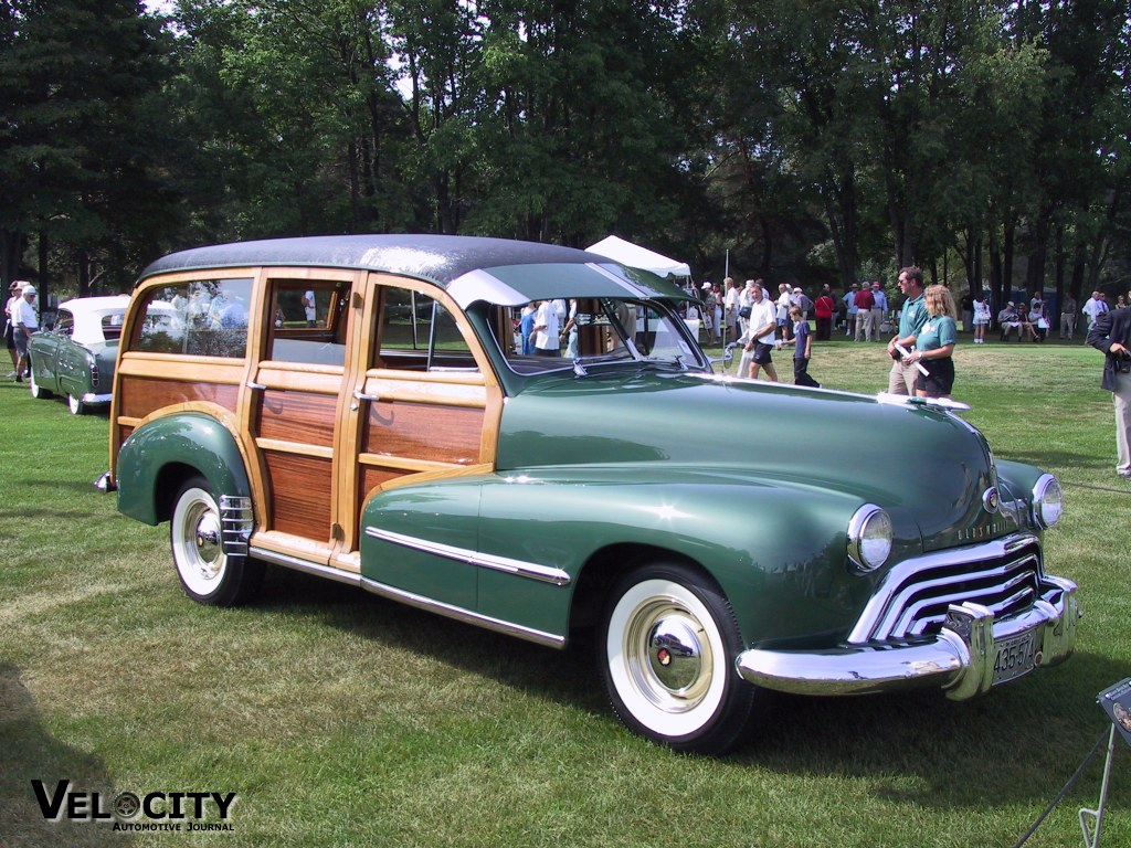 1948 Oldsmobile Woody Station Wagon