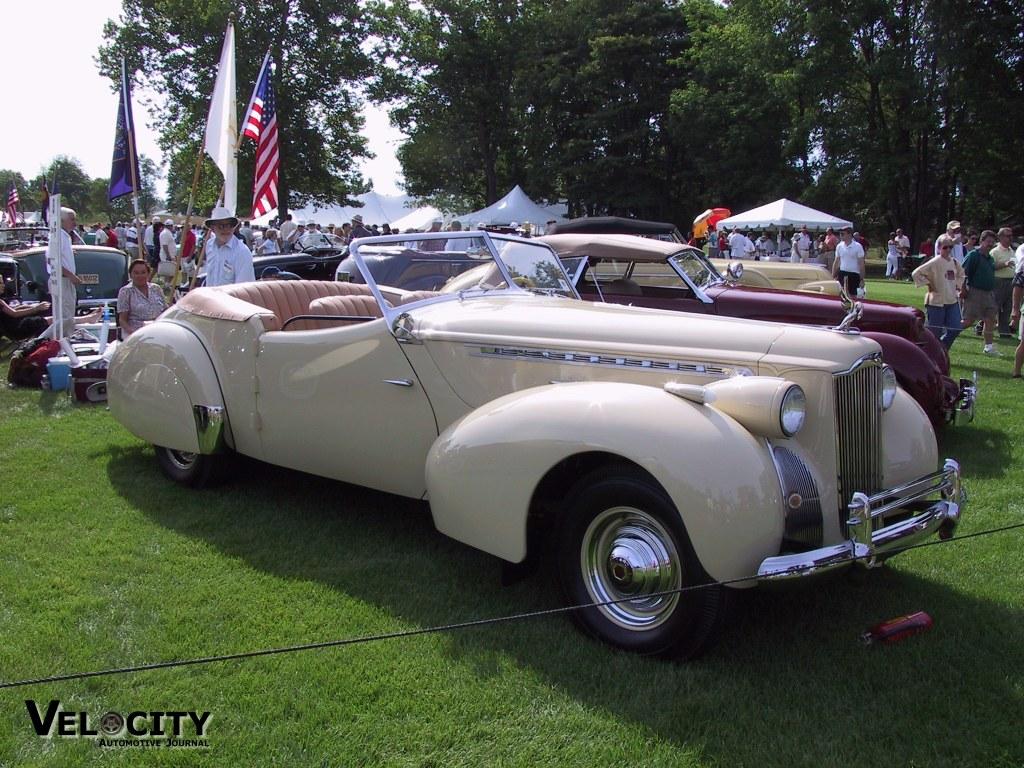 1940 Packard Darrin Victoria Convertible